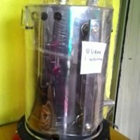 Setrika Uap Gas/Steam Boiler 10Liter Untuk Laundry/Konveksi