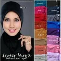 Ciput ninja antem/inner/dalaman jilbab