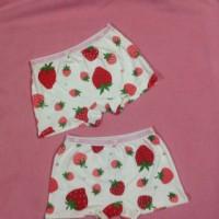 celana boxer strawberry