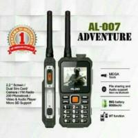 hp aldo al 007 handphone bisa HT an bisa untuk pb powerbank