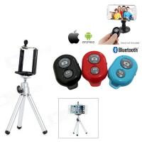 Paket Mini Tripod Dan Bluetooth Remote Shutter