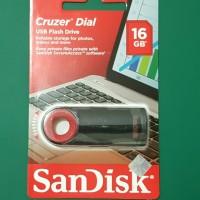 Flash Disk Sandisk CZ57 Cruzer Dial - 16GB
