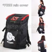 Tas Gaming Bag Ransel Backpack kuliah Sekolah Dota 2 Vici Gaming