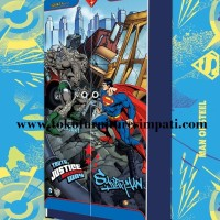 Lemari pakaian anak 2 pintu superman WD-SU 1681- TJ