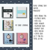 My Baby Journal > Buku Kenangan Bayi 0-5th
