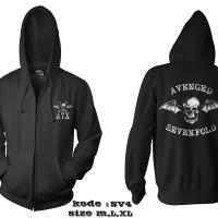 Jaket avenged sevenfold-zipper avenged sevenfold sv4