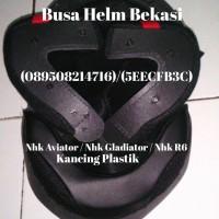 harga Busa Helm Nhk Aviator / Nhk Gladiator / Nhk R6 , Kancing Plastik Tokopedia.com