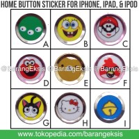 Home Button / Touch ID / Tombol Sticker iphone Apple Ipad Ipod - TIHBK