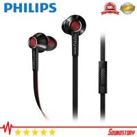 Philips S1 Black Fidelio Hi End Earphone With Mic Original Garansi