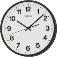Jam dinding Seiko QXA640K -Quite sweep second hand & 3D numerals
