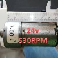 Motor Dc Penarik Beban 24V 530RPM Motor Dc Second Berkualitas