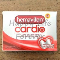 Hemaviton Cardio - suplemen untuk mengurangi kolesterol