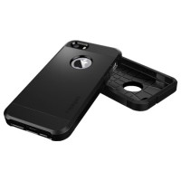Case SPIGEN SGP TOUGH ARMOR IPHONE 5/5s/5 S/SE Anti Shock Casing