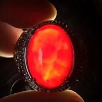harga Cincin Titanium Batu Natural Akik Darah HQ Tokopedia.com