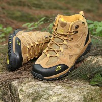 Sepatu Gunung/Trekking/Hiking/Outdoor SNTA 472 Brown Yellow