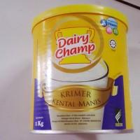 DAIRY CHAMP 1KG KRIMER KENTAL MANIS MALAYSIA / SUSU KENTAL