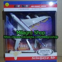 Miniatur (Diecast) Pajangan Pesawat Terbang SRIWIJAYA AIR