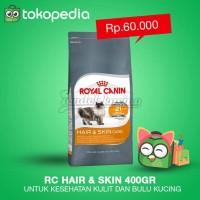 Makanan Kucing - Royal Canin Hair & Skin 33 400gr