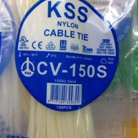 Cable Ties - KSS - 15 CM X 2,5 MM WHITE CV-150s
