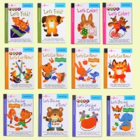 Buku Anak - Kumon Let's Series Book (Ages 2 and Up) - 12 Books Set