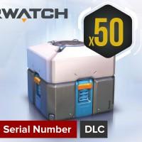 [PC Game DLC] Overwatch Lootbox (x50)
