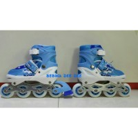 harga RollerBlade/Inline Skate/Sepatu Roda Sport/POWER SPEED BLUE Tokopedia.com