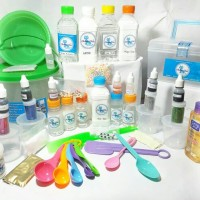 Slime Kit Keren Abis/ Terlengkap/ Slime Act