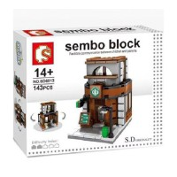 Lego Sembo SD6013 Coffee Shop
