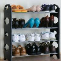 Rak sepatu gantung minimalis praktishanging shoes organizer multifungs