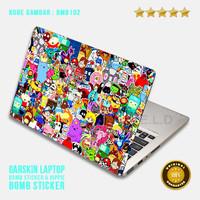 Garskin/Skin/Cover/Stiker/Sticker Laptop Protector-Bm Bomb Sticker 2
