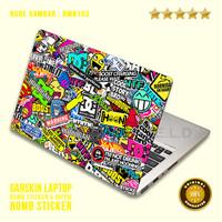 Garskin/Skin/Cover/Stiker/Sticker Laptop Protector-Bm Bomb Sticker 3