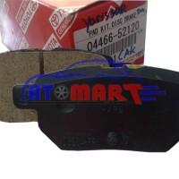 Pad Kit / Kampas Rem Yaris S Dan New Vios Depan 04465-52240