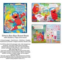 harga Sesame Street Elmo's Boo-Boo Board Book Tokopedia.com