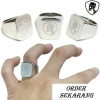 Cincin Pria Cincin Titanium Ring Fourspeed Logo