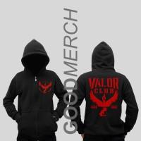 Jual Hoodie Zipper Pokemon Team Valor 'Special Black Edition' Murah