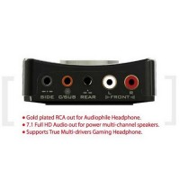 Aim Ultimate USB HD Audio Digital Box 7.1 24-bit / 192kHz - AS372