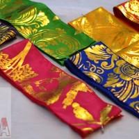 Jual Sabuk Adat Bali Oby obi Kebaya prada emas tradisional ikat tarian nari Murah