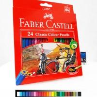 Faber-Castell Classic Colour Pencils (24 Colours)
