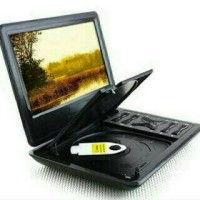 "DVD PORTABLE 10"" TORI / Merk TORI Home TPD-901 + TV Tuner"