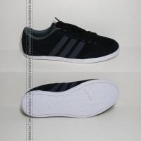 harga ORIGINAL 100%! Sepatu Adidas Original NEO Caflaire. Hitam Suede Abu2 Tokopedia.com