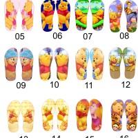 Jual katalog sandal karakter pooh-polka-sofia-tsumsum-upinipin Murah