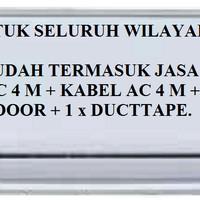 PROMO AC DAIKIN 1/2 PK FTV-15AXV14 (FREON R32, 380 WATT)