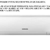 PROMO AC SAMSUNG 1 PK AR-09KRFLAWKN (FREON R410A, 800 WATT)