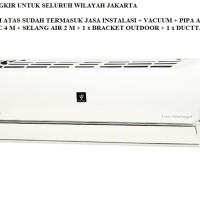PROMO AC SPLIT SHARP 3/4PK PLASMACLUSTER LOWWATT AH-AP7SHL (R32, 540W)