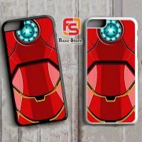 Iron Man Body Armor F0839 iPhone 4, 4S, 5, 5S,5C, 6, 6S, 6 Plus, 6S Pl