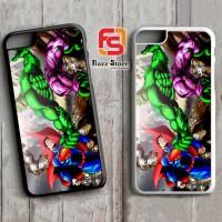 Hulk vs superman Z0488 iPhone 4, 4S, 5, 5S,5C, 6, 6S, 6 Plus, 6S Plus