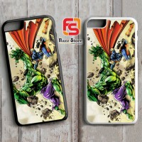 HULK VS SUPERMAN Y0203 iPhone 4, 4S, 5, 5S,5C, 6, 6S, 6 Plus, 6S Plus