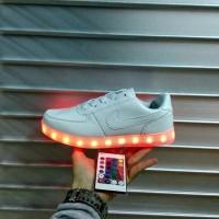 LED Shoes Nike airforce 1 Premium Original ( Sepatu Lampu )