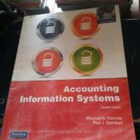 harga BUKU ACCOUNTING INFORMATION SYSTEM ( MARSHALL B.ROMNEY) Tokopedia.com