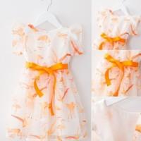 Dresss flower orange import